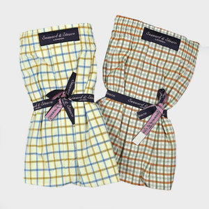 Cotton Boxer Short Bundle Windows and Checks