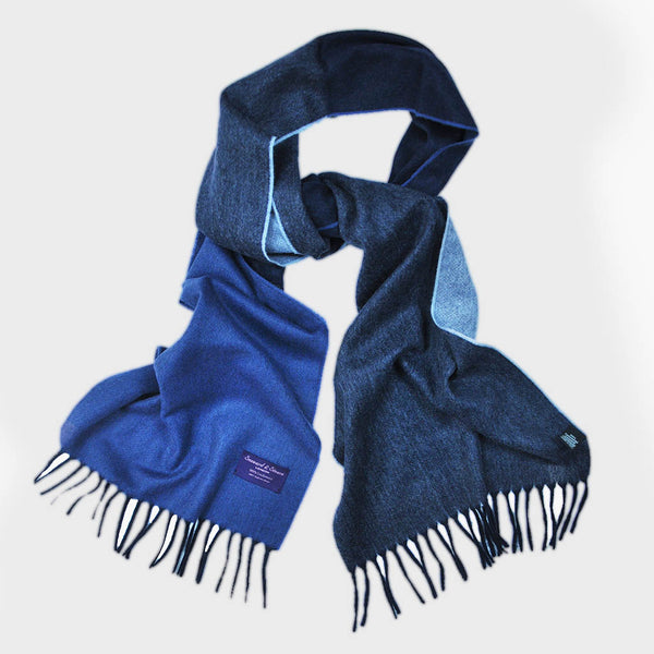 Four Panels of Colour Cashmere Scarf