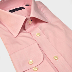 Classic Collar Pink Cotton Shirt