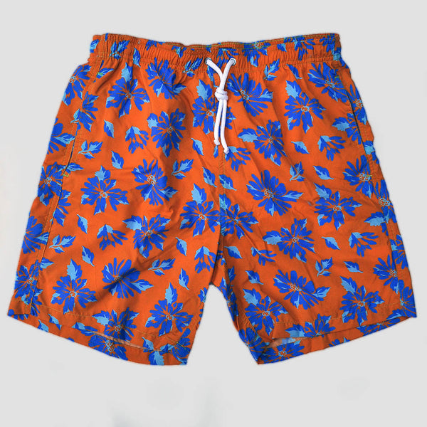 Tropical Leaves Swim Short