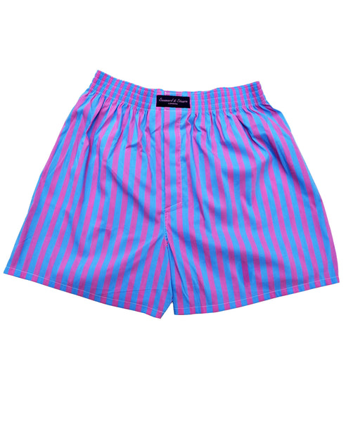 Bold Stripes Cotton Boxer Short