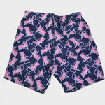 Deck Chair Swim Short in Navy