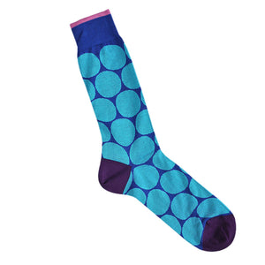 Fine Cotton Big Spot Socks