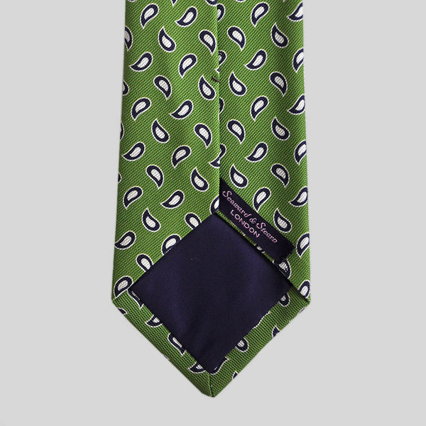 English Woven Silk Falling Tears Tie