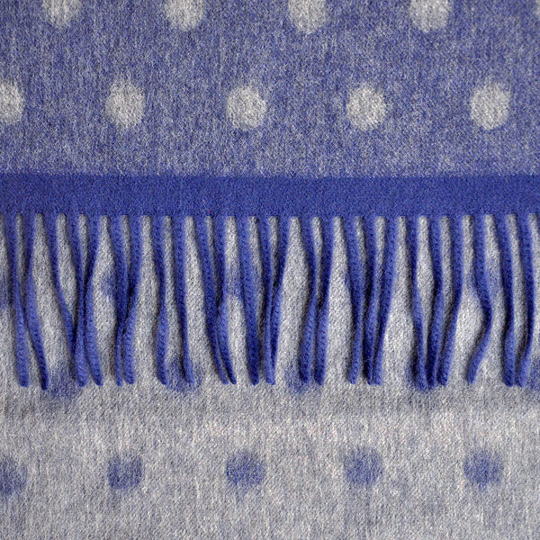 Wool Spots and Colours Winter Scarf