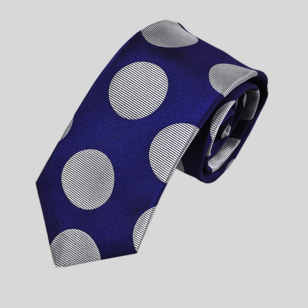 English Woven Silk Super Dots Tie