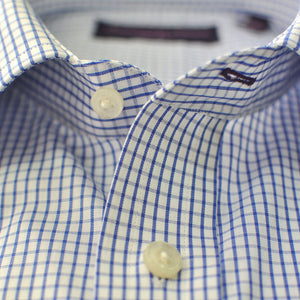 Classic Collar Check Cotton Shirt