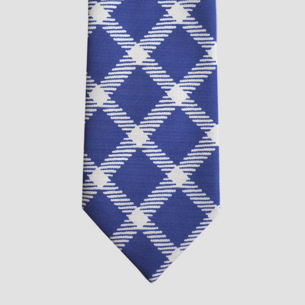 English Silk Funky Wide Check Tie