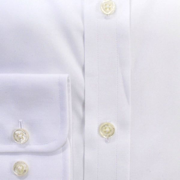 Classic Collar City White Cotton Shirt