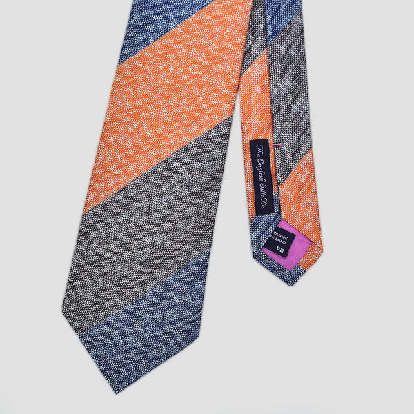 English Tussah Silk Wide and Funky Tie