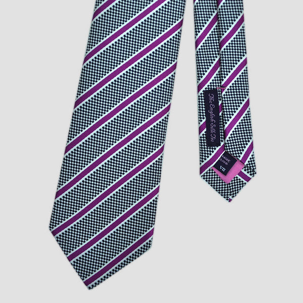 Spring Stripes Silk Tie