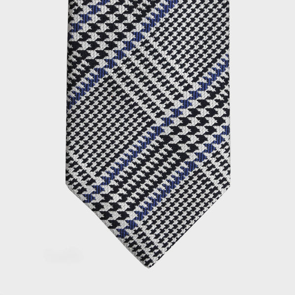 English Woven Silk Plaid Tie