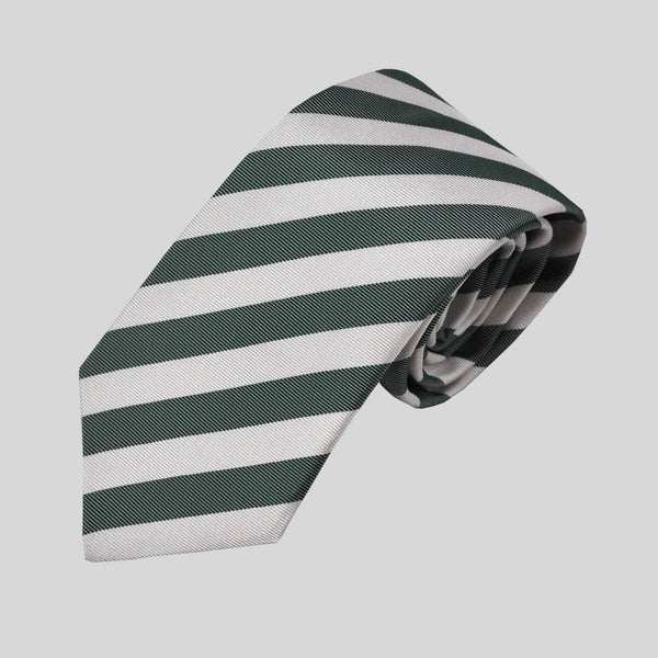 English Woven Silk Summer Stripes Tie