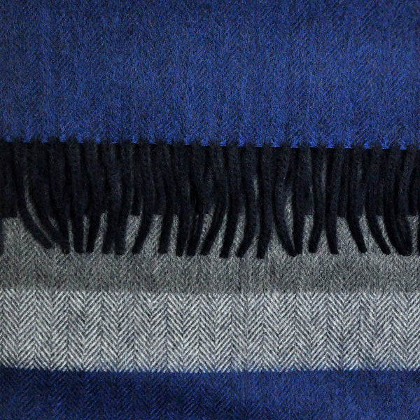 Herring Bone Wool Winter Scarf