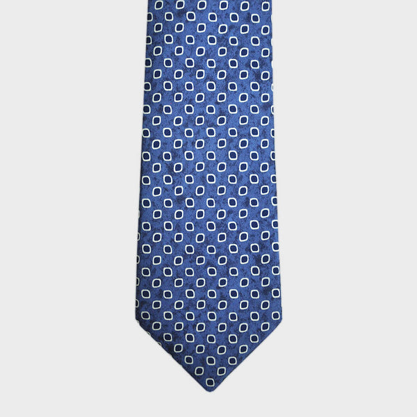 English Silk Dotty Repeat Tie
