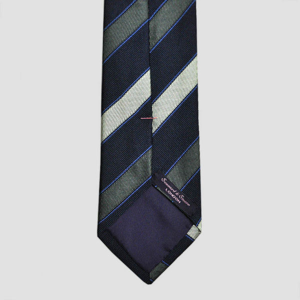 English Silk Neat Stripes Tie