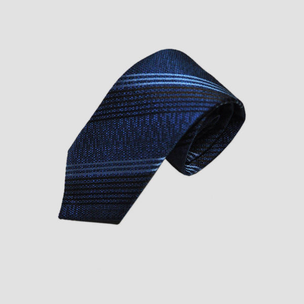 English Silk Pin-Stripes Tussah Tie