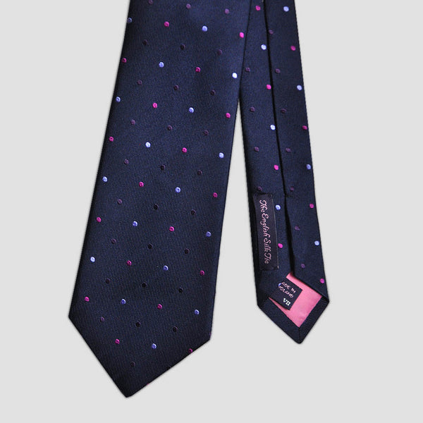English Silk Spotted Tie