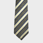 English Silk Textured Stripes Tie
