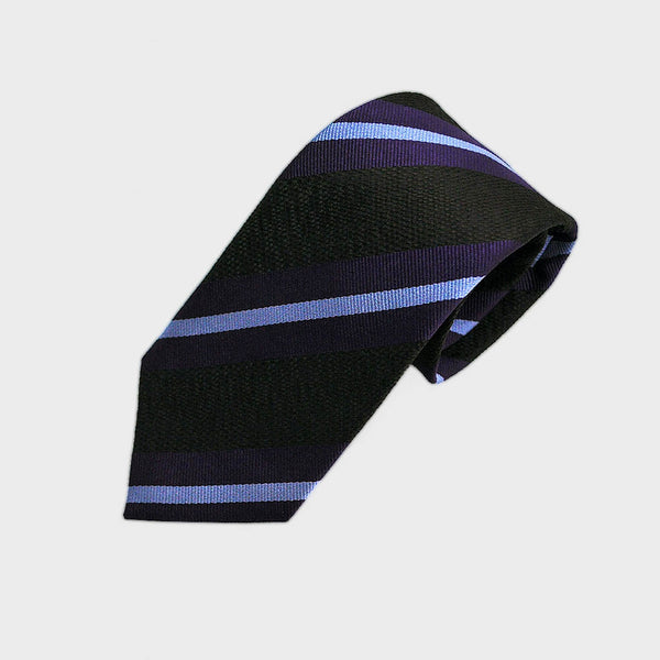 City Cool Stripes Woven Silk Tie