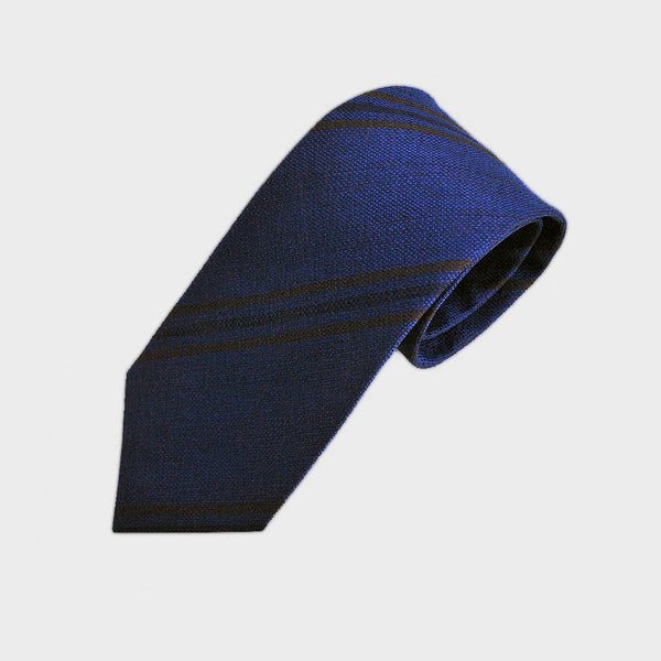 Mellow Stripes Woven Silk Tie