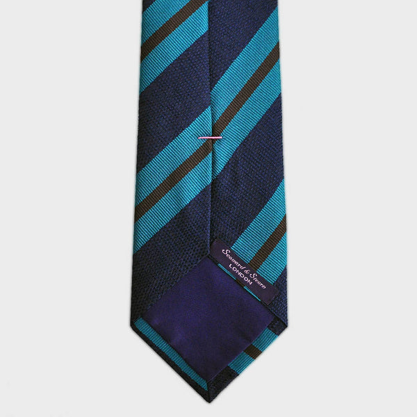 Cool Stripes Woven Silk Tie