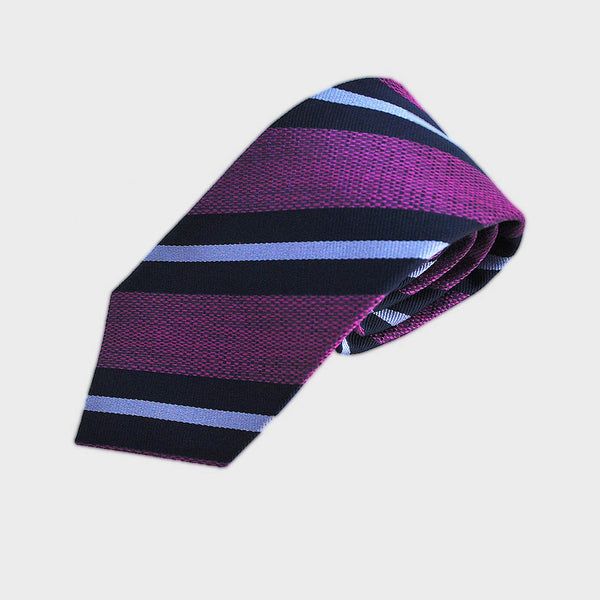 Richly Regal Stripes Silk Tie