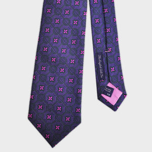 Kingly Repeat Woven Silk Tie
