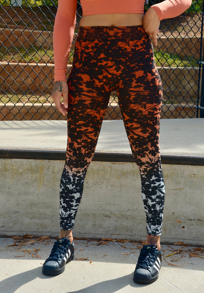 Go-Go Ombre Ankle Length Leggings
