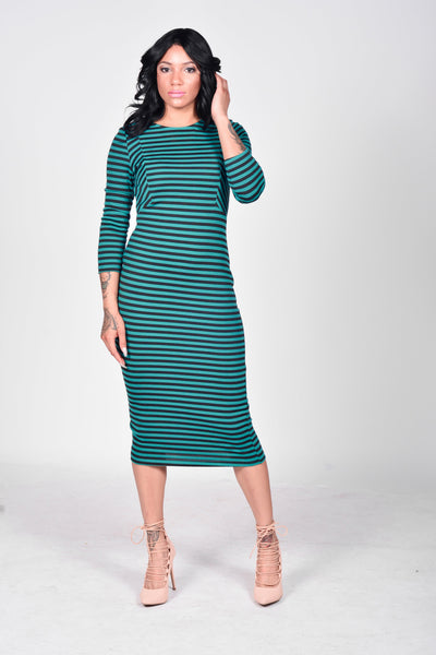 Jade Pencil Dress