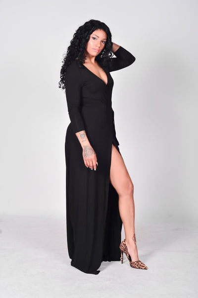 Lexy Wrap Dress