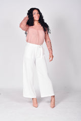 Hannah Wide Leg Trousers