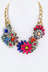 Jaz Floral Necklace