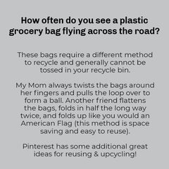 Plastic bags - What to do? Pinterest Board