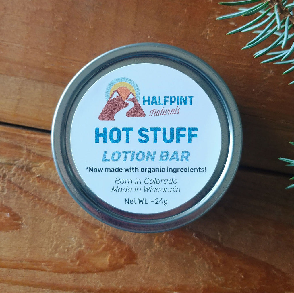 Hot Stuff Lotion Bar