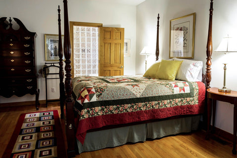 Bedding-Mart-four-poster-bed-mattress-sleep-better-bedroom-design-Rogers-Arkansas
