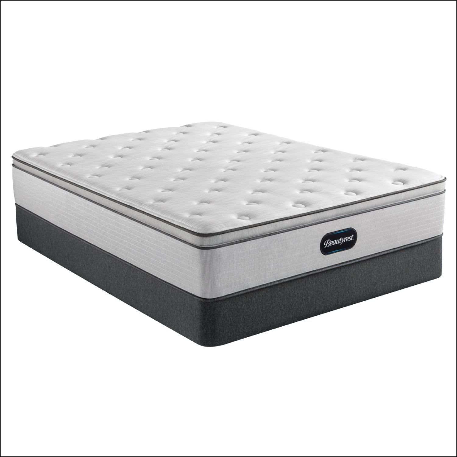 "Beautyrest 13.5"" BR800 Plush Pillow Top Mattress"