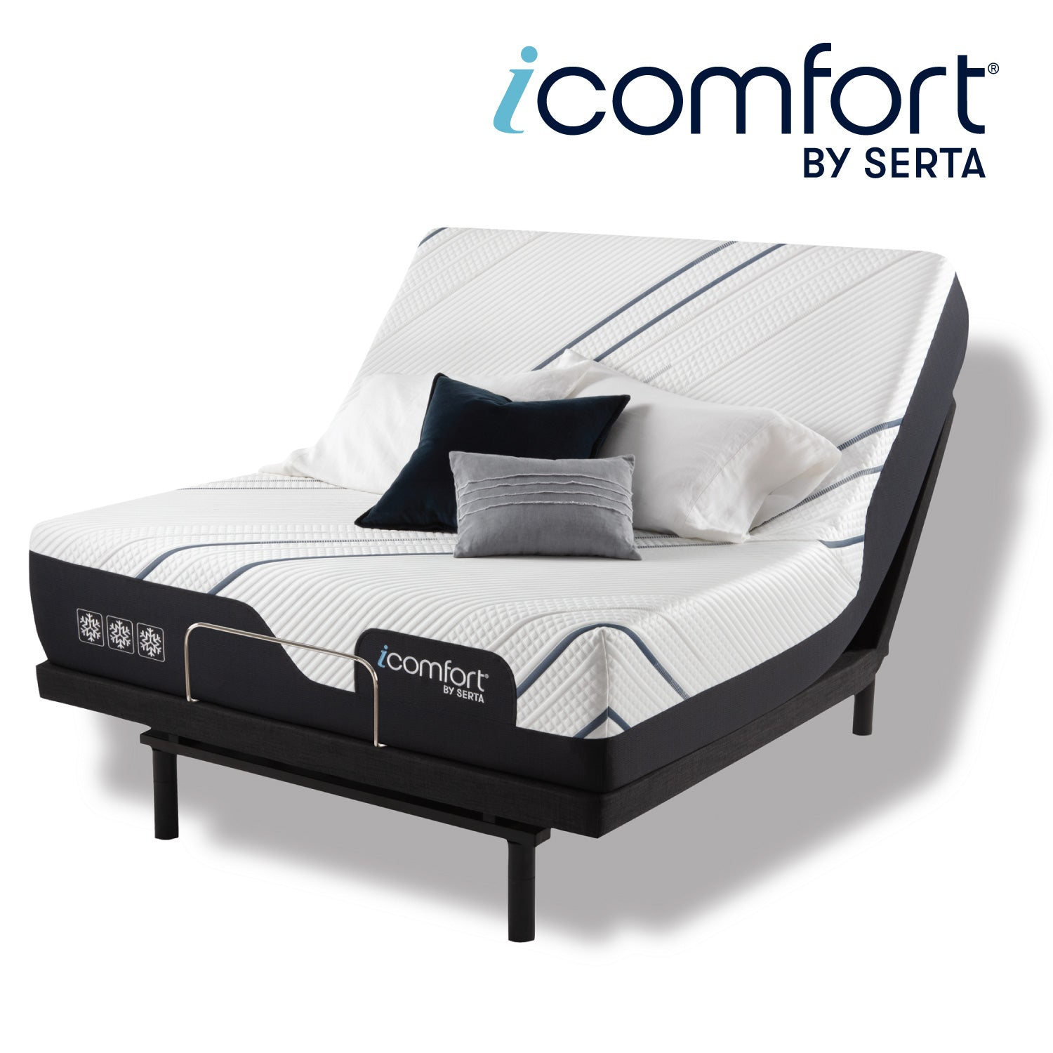 "Serta iComfort 12"" CF3000 Medium Memory Foam Mattress"