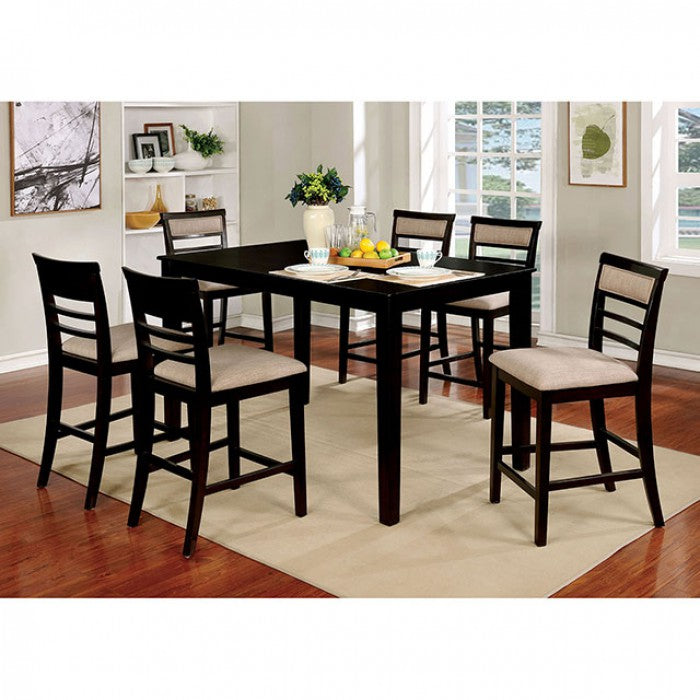 Fafnir - Counter Height Dining Set CM3607EX-PT