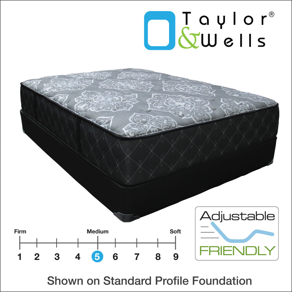 "Taylor & Wells® 12.5"" Gardengate Plush Mattress"