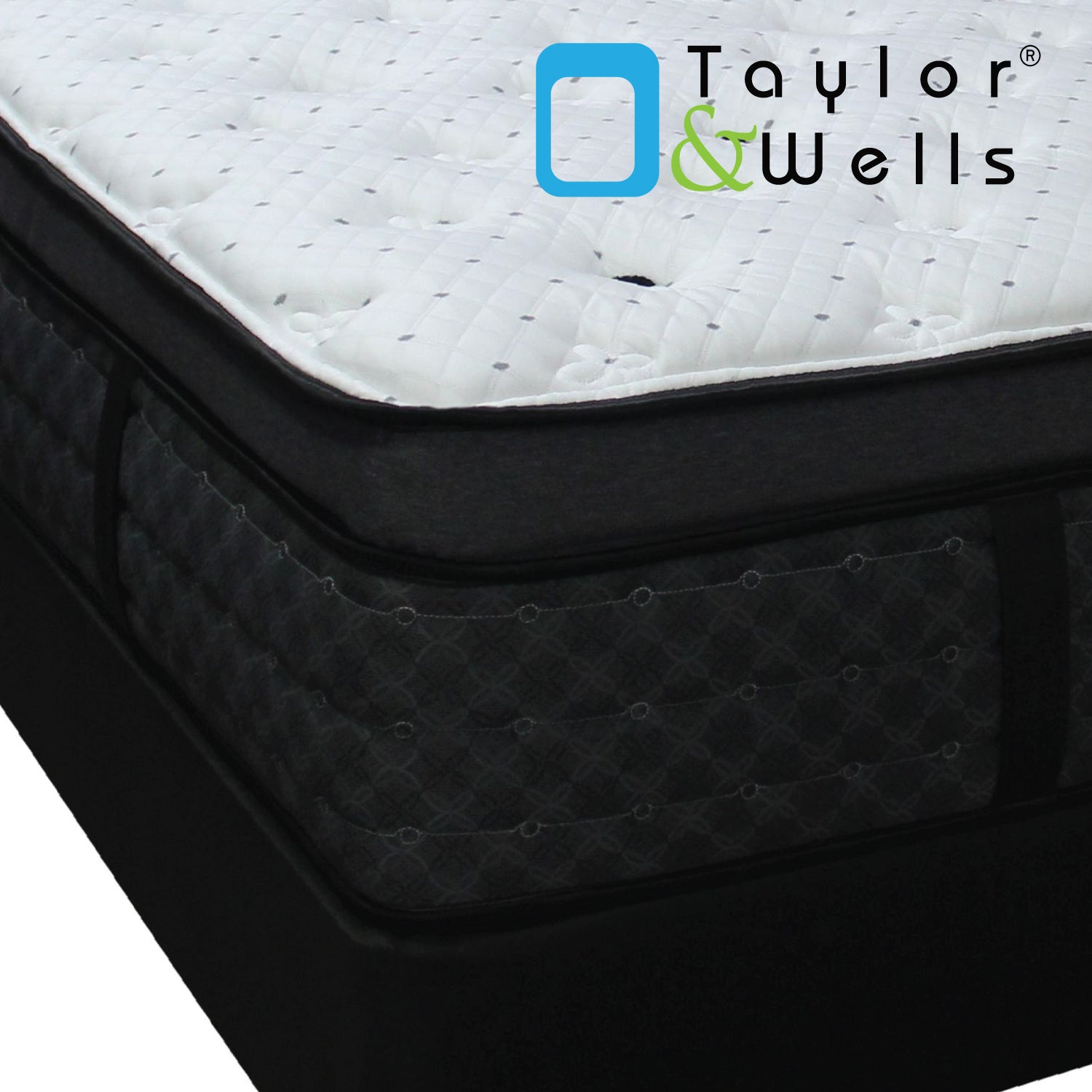 "Taylor & Wells® 14"" Glacier Plush Euro Pillow Top Mattress"