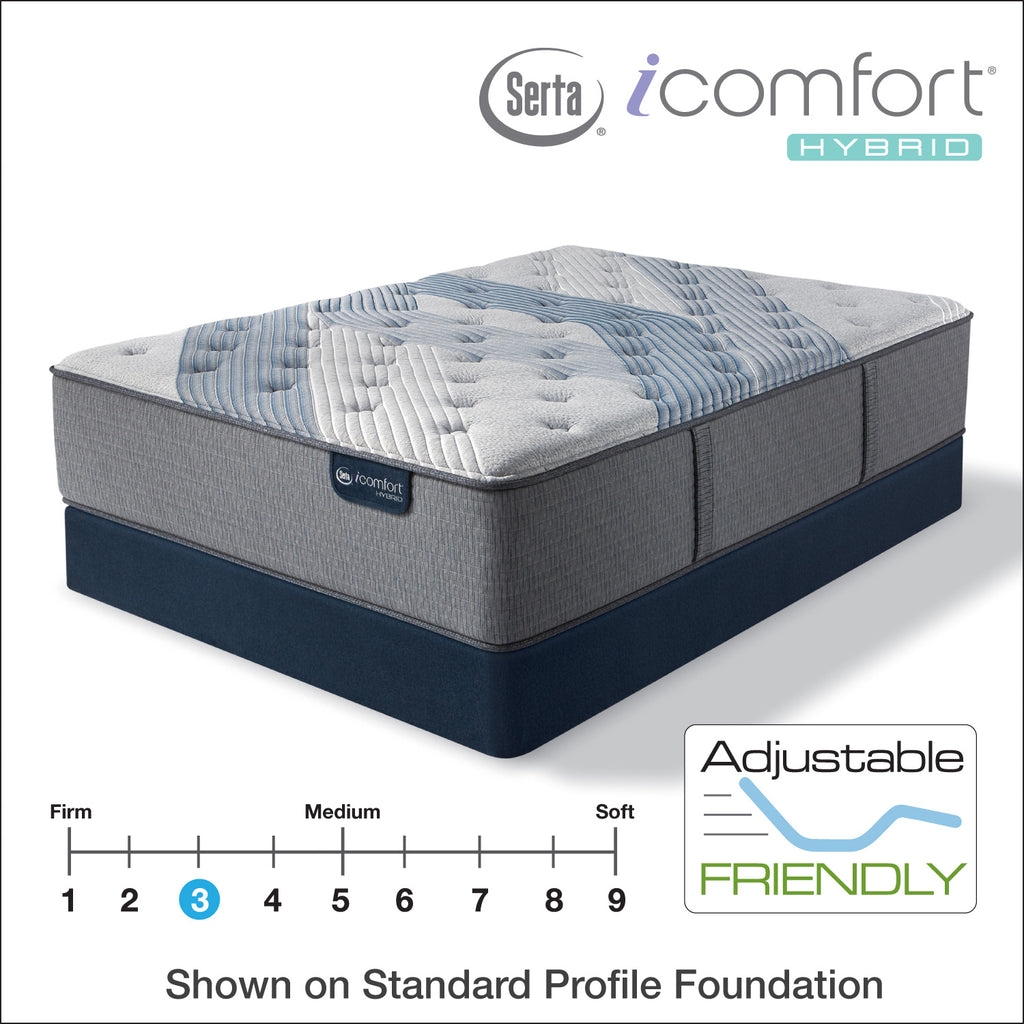 "Serta iComfort 14.5"" Hybrid Blue Fusion 1000 Luxury Firm"