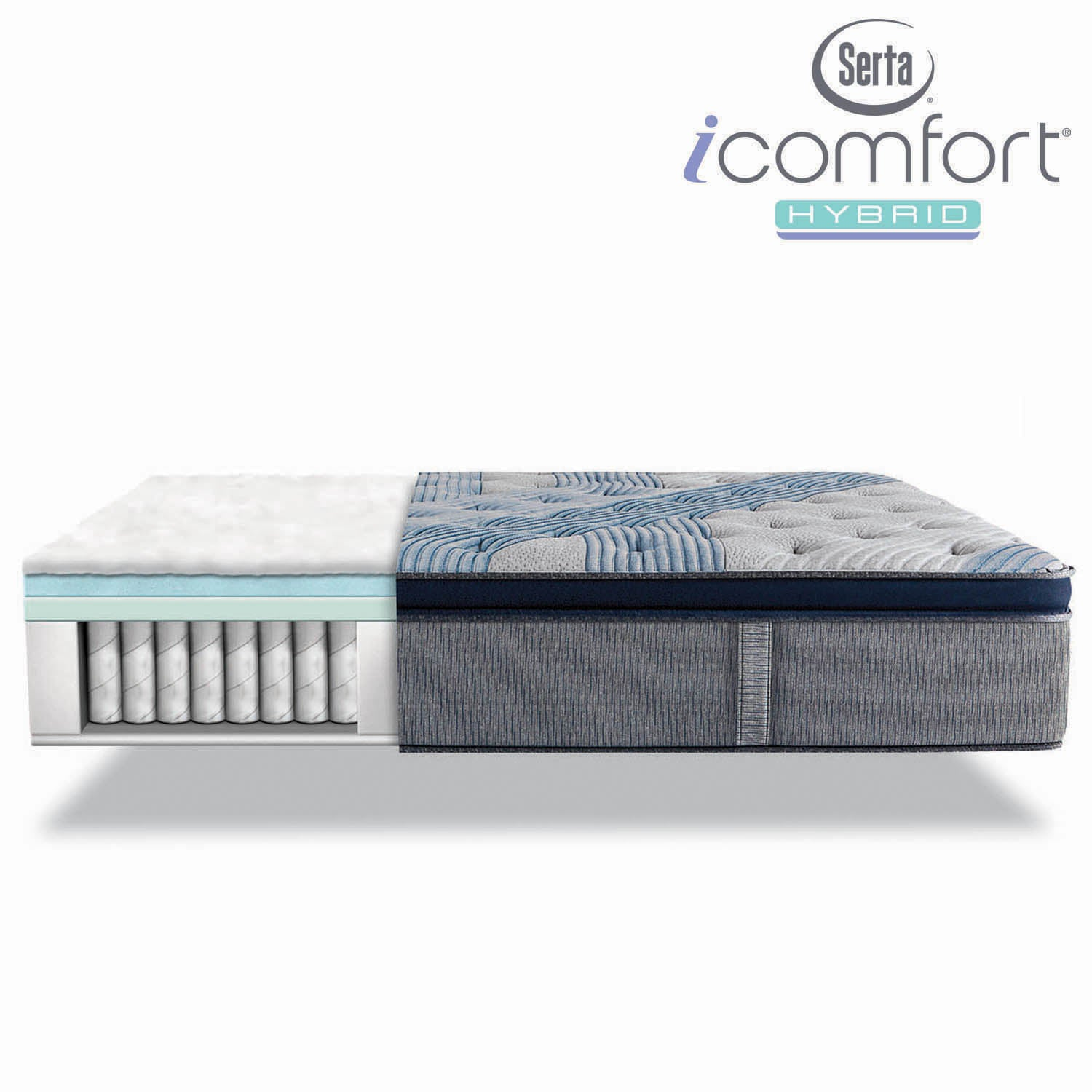 serta pillow mattress home top size perfect double king