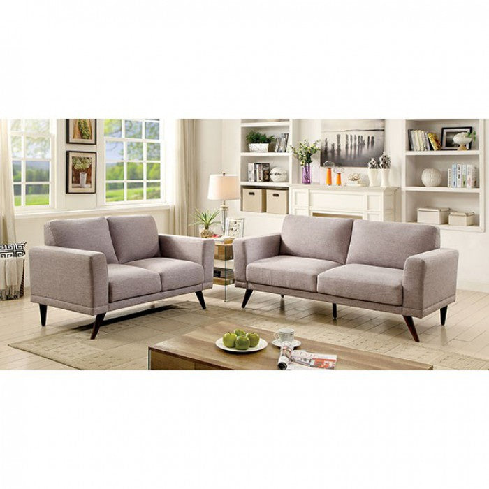 Janie - Sofa, Love Seat & Chair CM6977GY