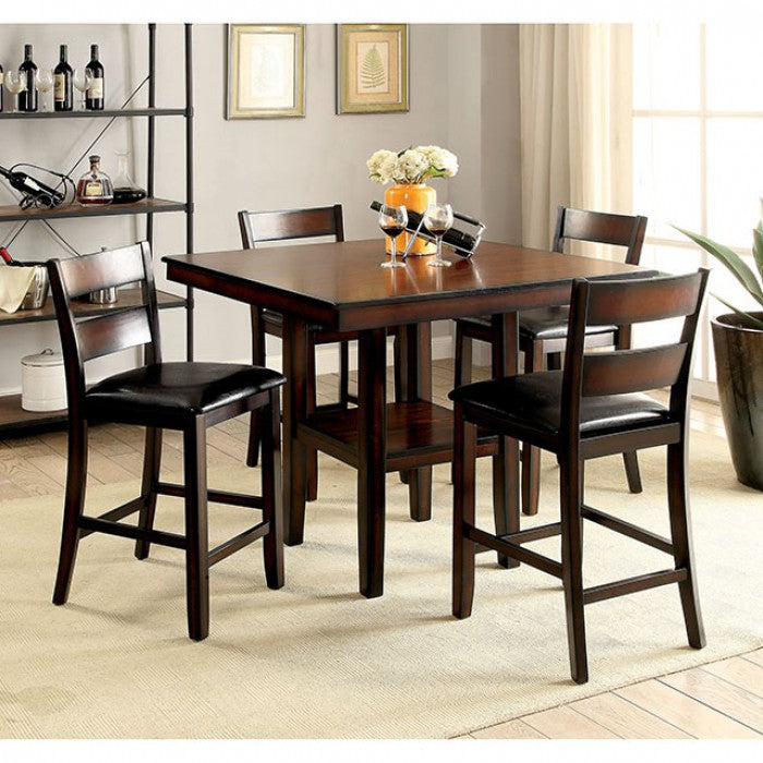 Norah II - Counter Height Dining Set CM3351PT-5PK