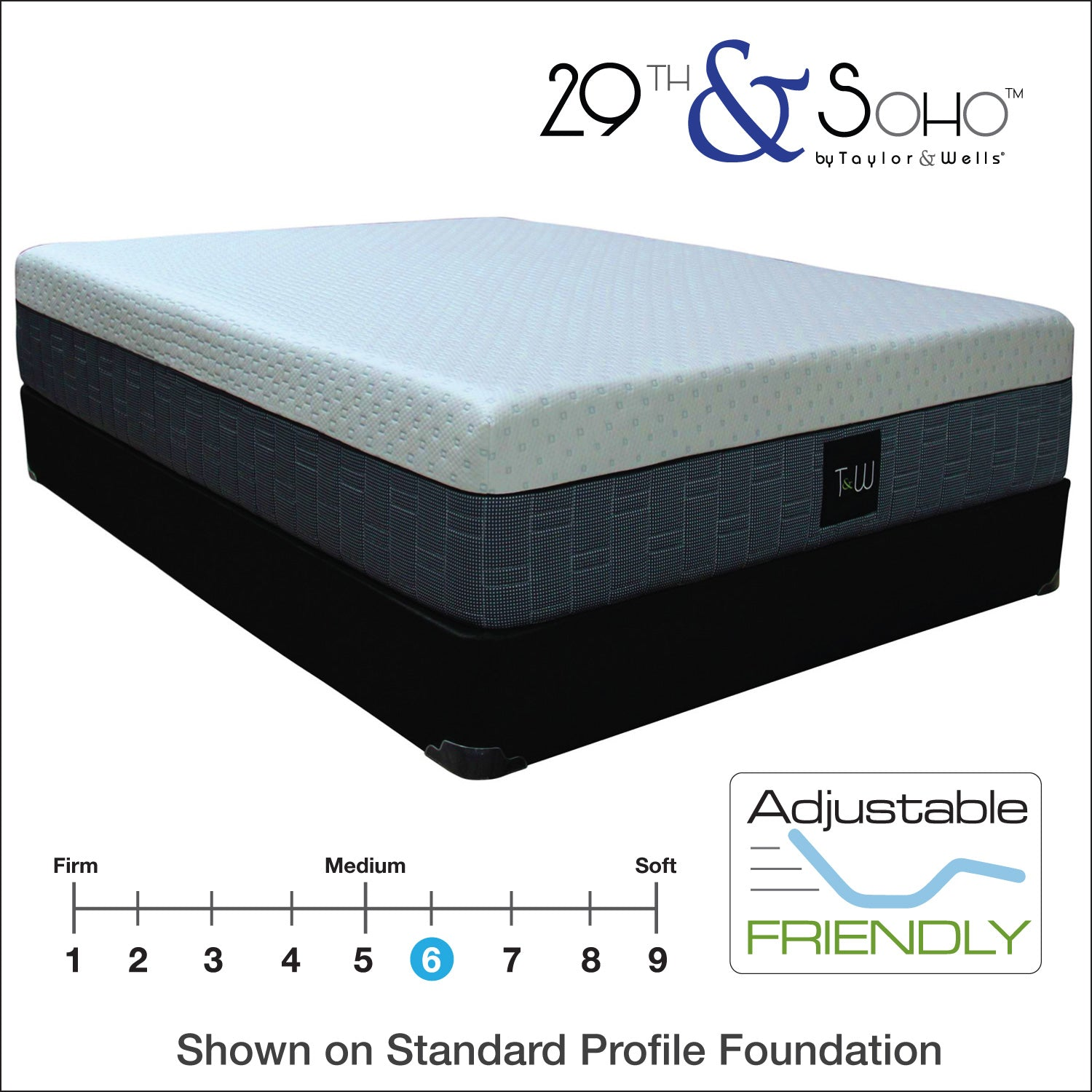 "29th & Soho 29|14 Comfort Plush 14"" Mattress"