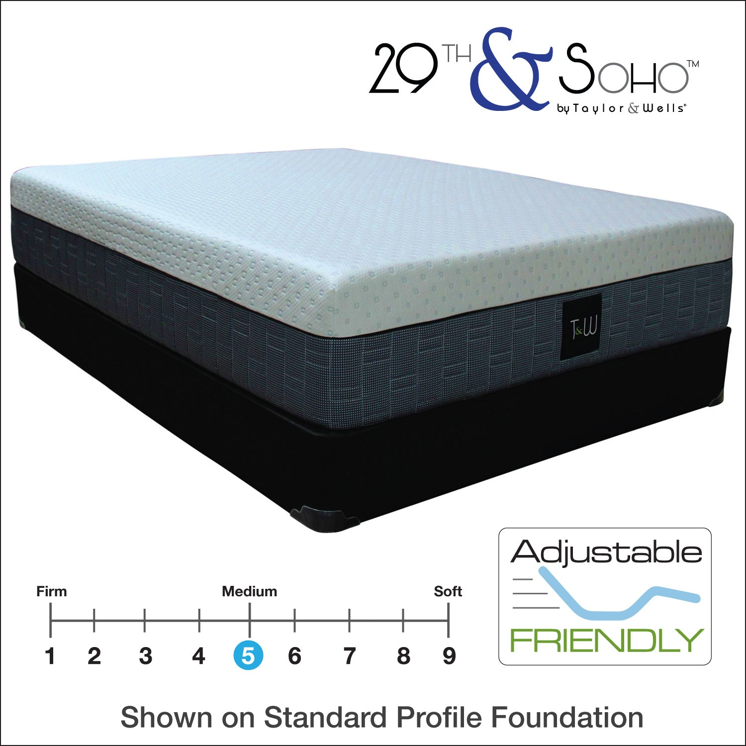 "29th & Soho 29|14 Hybrid Plush 14"" Mattress"