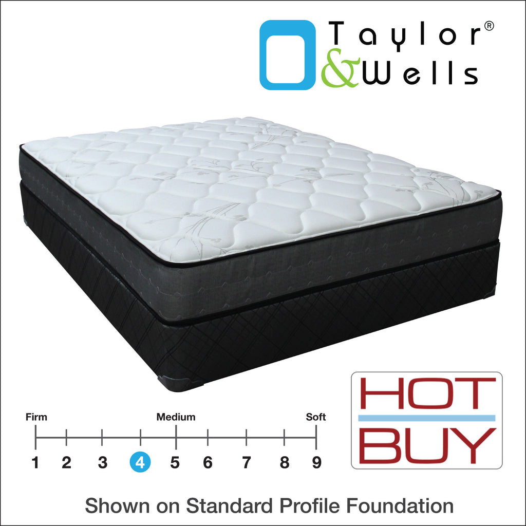 Taylor & Wells Wallace Plush Mattress