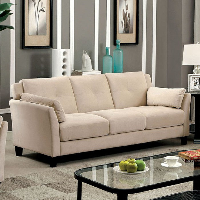 Add Charm Living Room Sets Ysabel - Sofa, Love Seat u0026 Chair CM6716BG