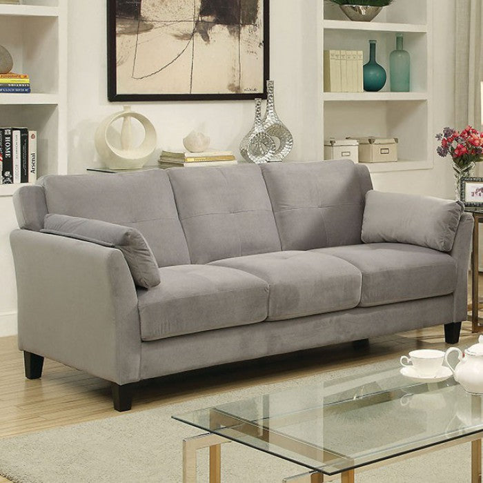 Ysabel - Sofa, Love Seat & Chair CM6716GY